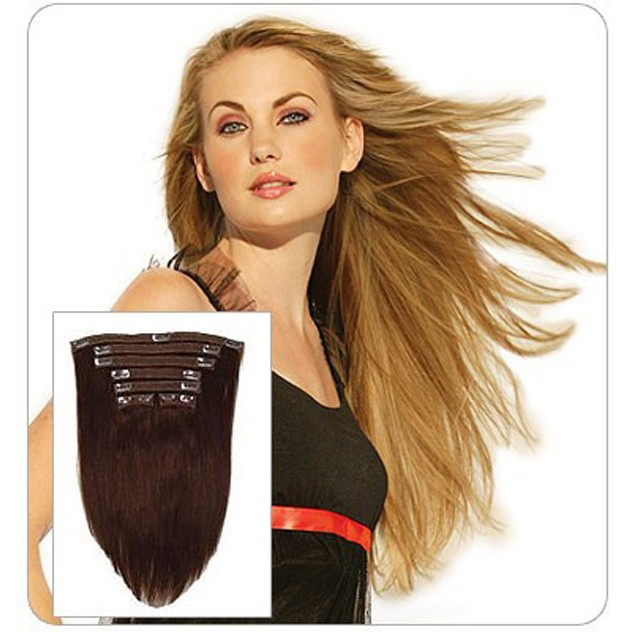 Lord Cliff Hh Remi Clip In Human Hair 7pcs Extension 14 18 Inch D